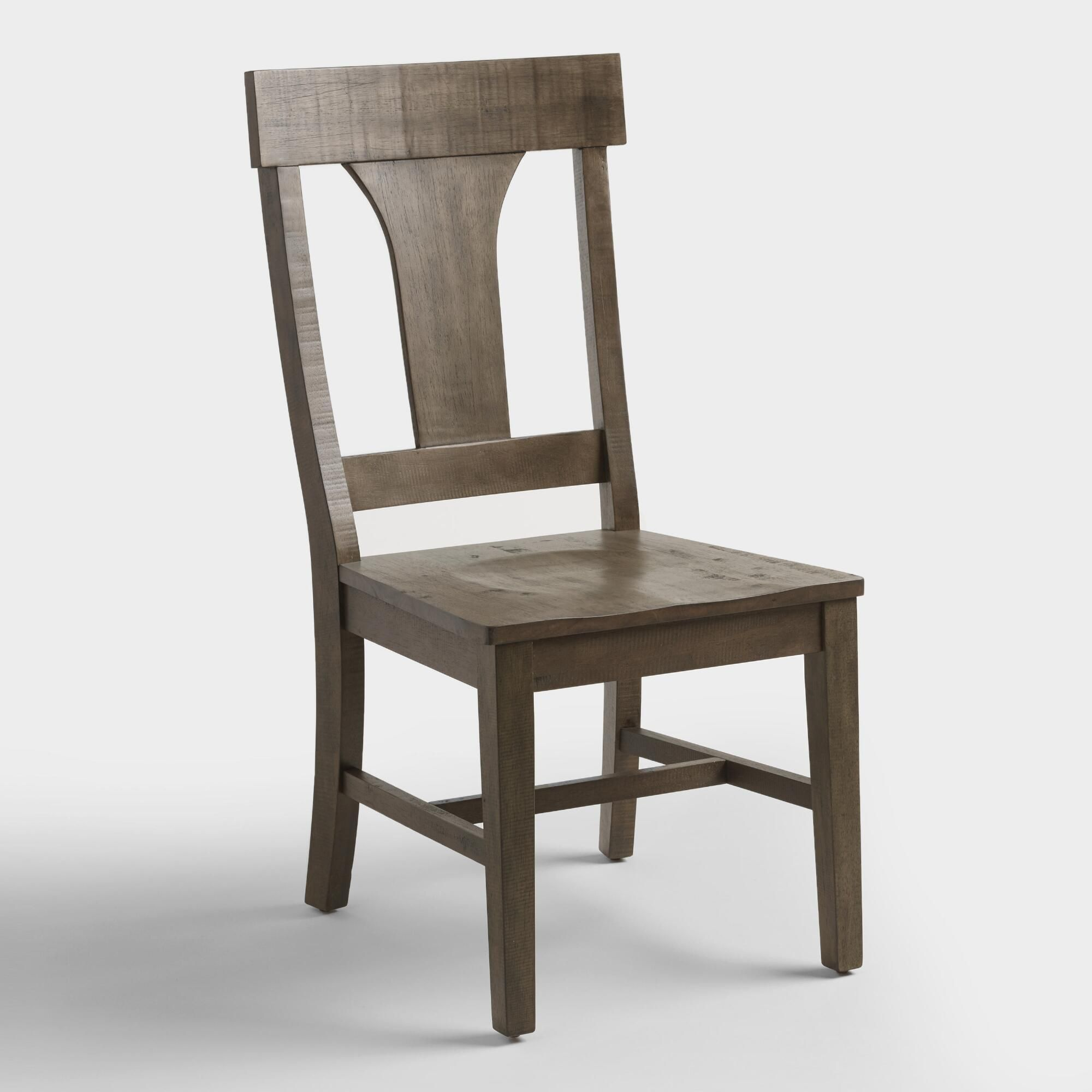 Genial Rustic Wood Brinley Dining Chairs Set Of 2: Brown By World Market