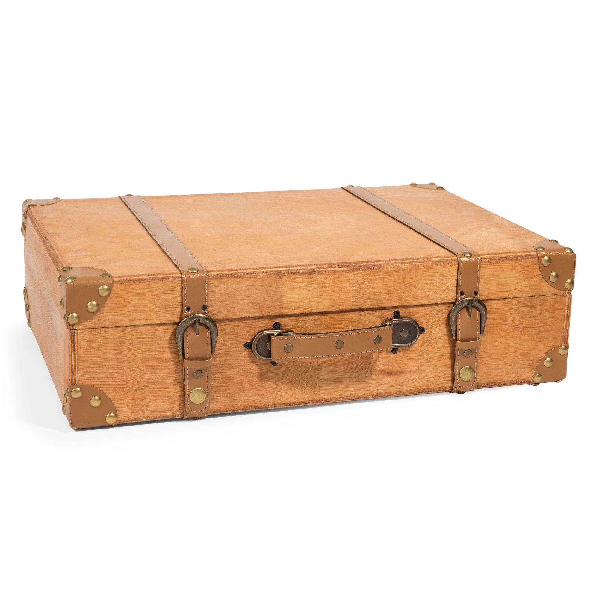 valise en bois Valise en bois 33 x 50 cm FOREST