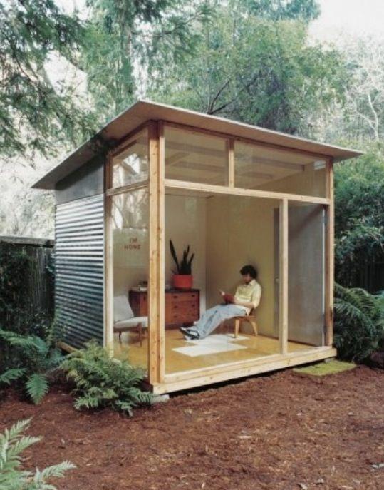 Small Garden House Put On Sono TubesTuinhuis