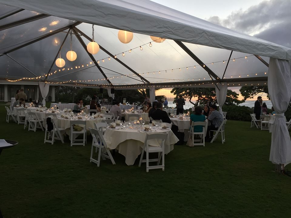 Turtle Bay Resort Courtney And Mikes Wedding Reception At Kuilima Point Planner Tori