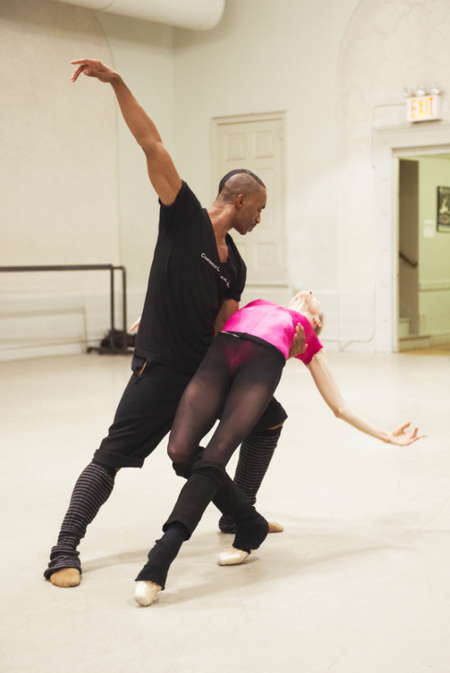 Desmond Richardson and Wendy Whelan. Photo by Jim Lafferty.