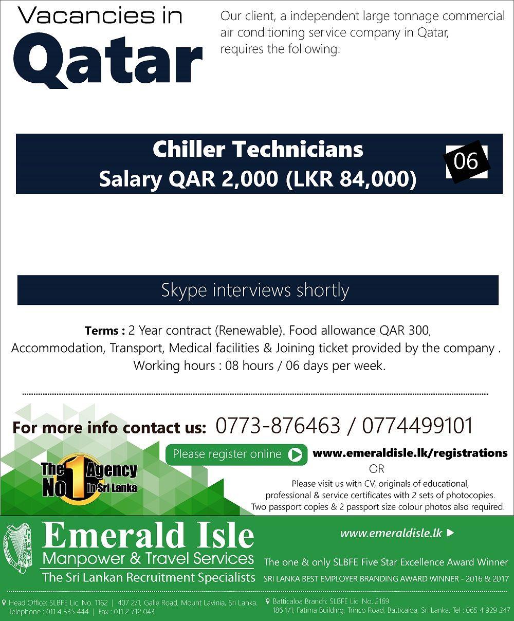 Emerald Isle Recruitment Specialist Air conditioning