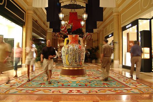 Via Bellagio in Las Vegas, USA - The most unusual shopping malls ...