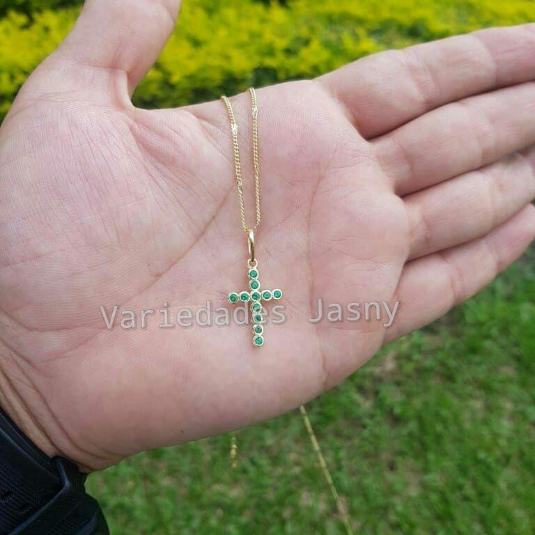 90d3ee8b6aa8 Ref. 22889  dije  orolaminado  moda  belleza  accesorios  cruz ...
