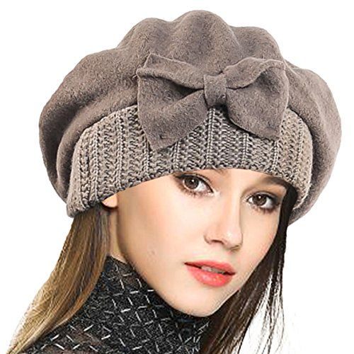 VECRY Women's 100% Wool Bucket Hat Felt Cloche Ber