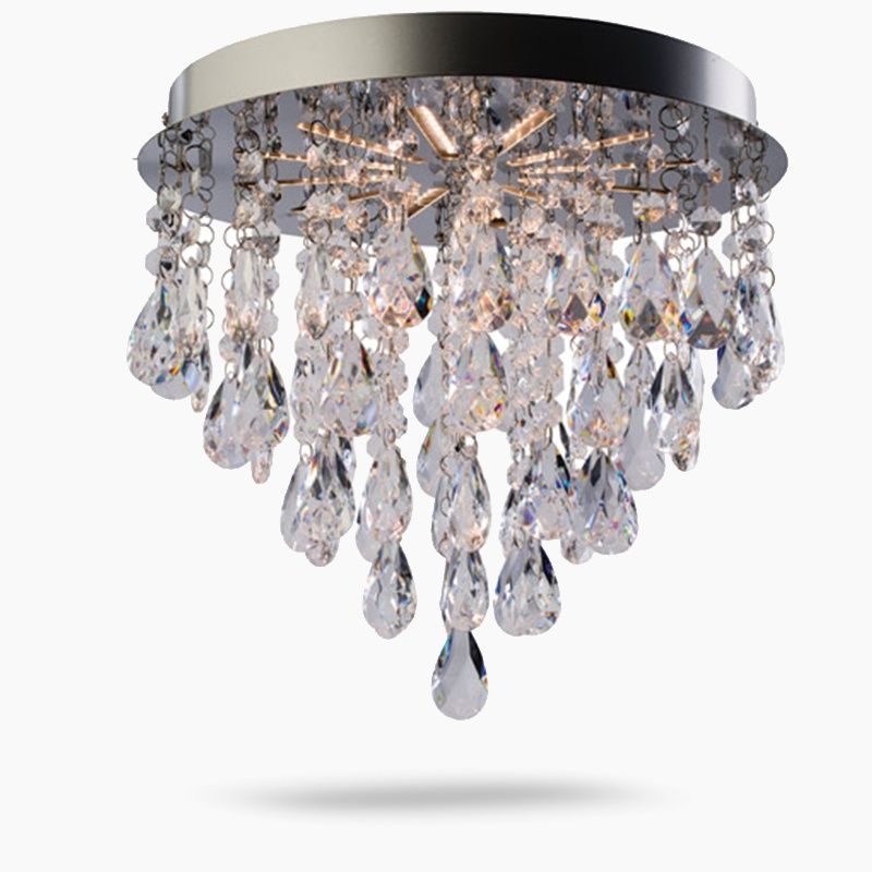 Endon Bathroom Ceiling Lights saxby endon alica led crystal ceiling light | closet remodel