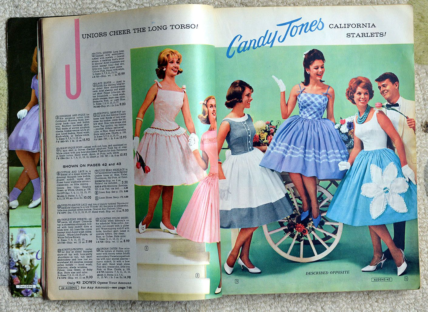 VINTAGE ORIGINAL ALDENS CATALOGUE 1961 SPRING/SUMMER MAIL