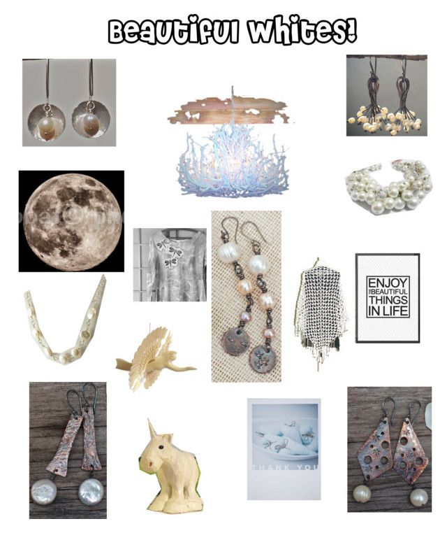 """Beautiful Whites!"" by claudeswoodcarving ❤ liked on Polyvore featuring integrityTT and EtsySpecialT"