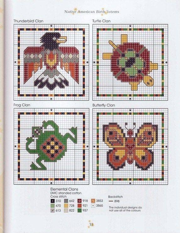Native Clan Signs Free Cross Stitch Patterns Cross Stitch