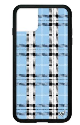 Blue Plaid iPhone 11 Pro Max Case