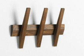 Garderobe Hakenleiste Holz Tangent 3 Hoigaard Garde Robe