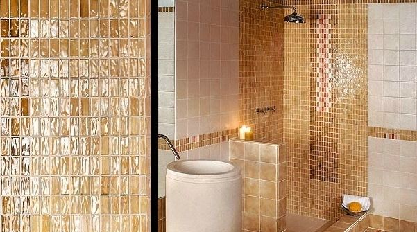 Inspiration Tapeten Best Design Ideen 2015 Dekoration 2015 - badezimmer in braun mosaik