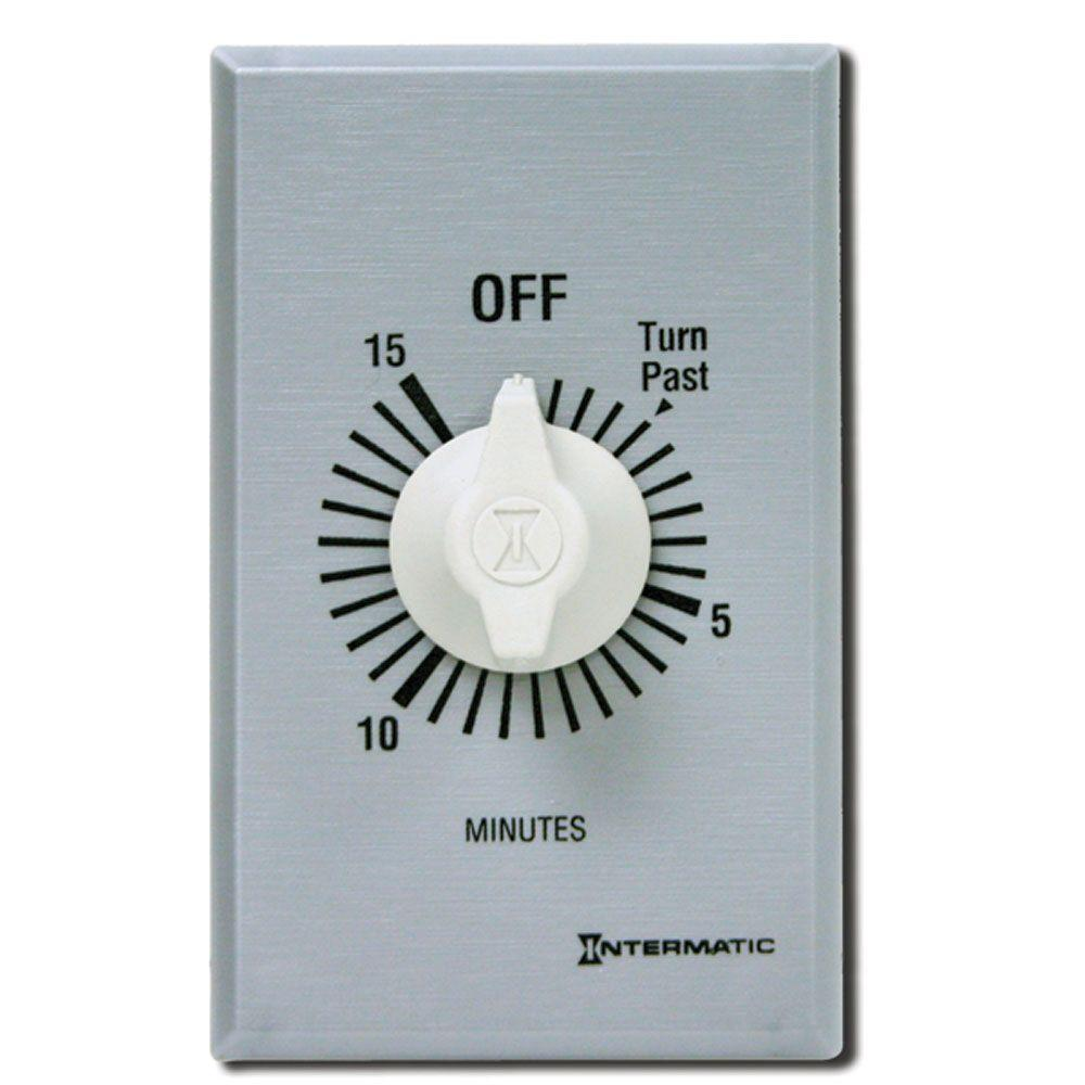Intermatic FF Series 10 Amp 15-Minute In-Wall Auto-Off