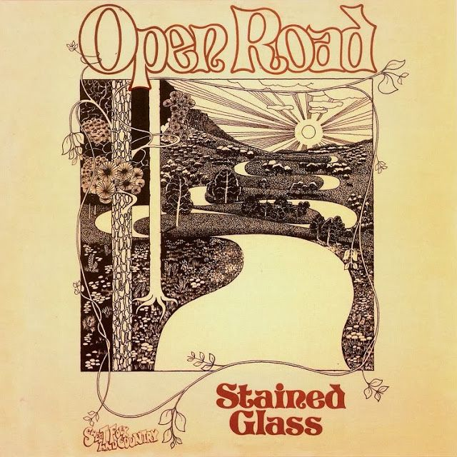 Stained Glass - Open Road (1974)