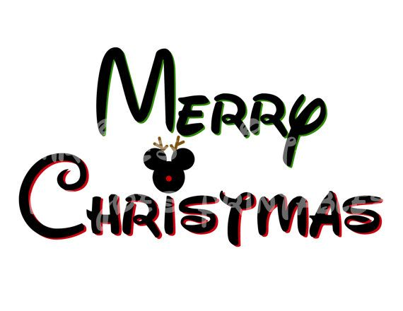 Disney Mickey Merry Christmas Mickey Mouse DIY by mrjoesprintables ...