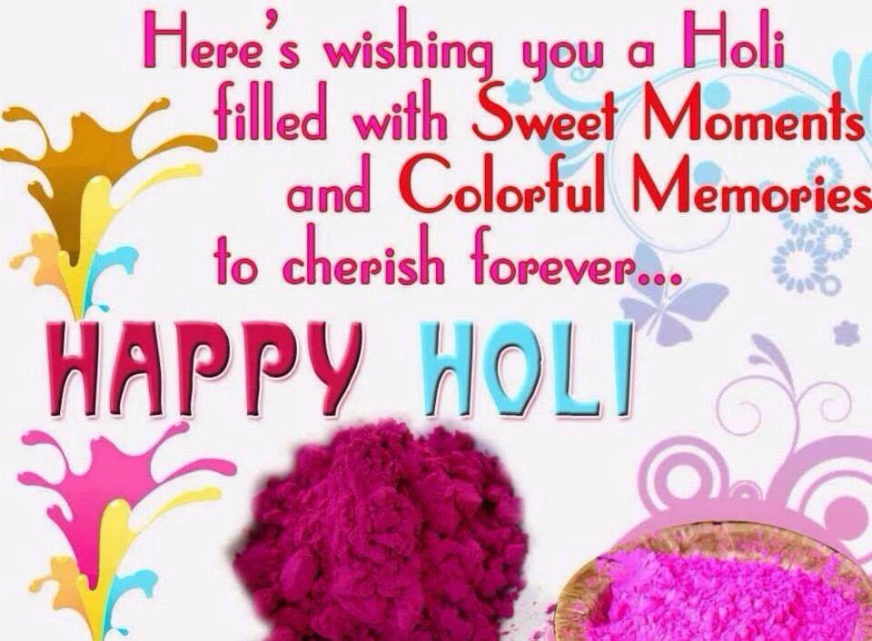 Wishing Happy HOLI To All the Members of Hindu Community
