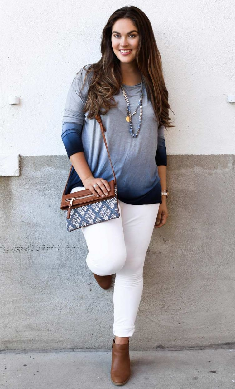 new plus size fashion for women :: miracle tunic :: curvalicious