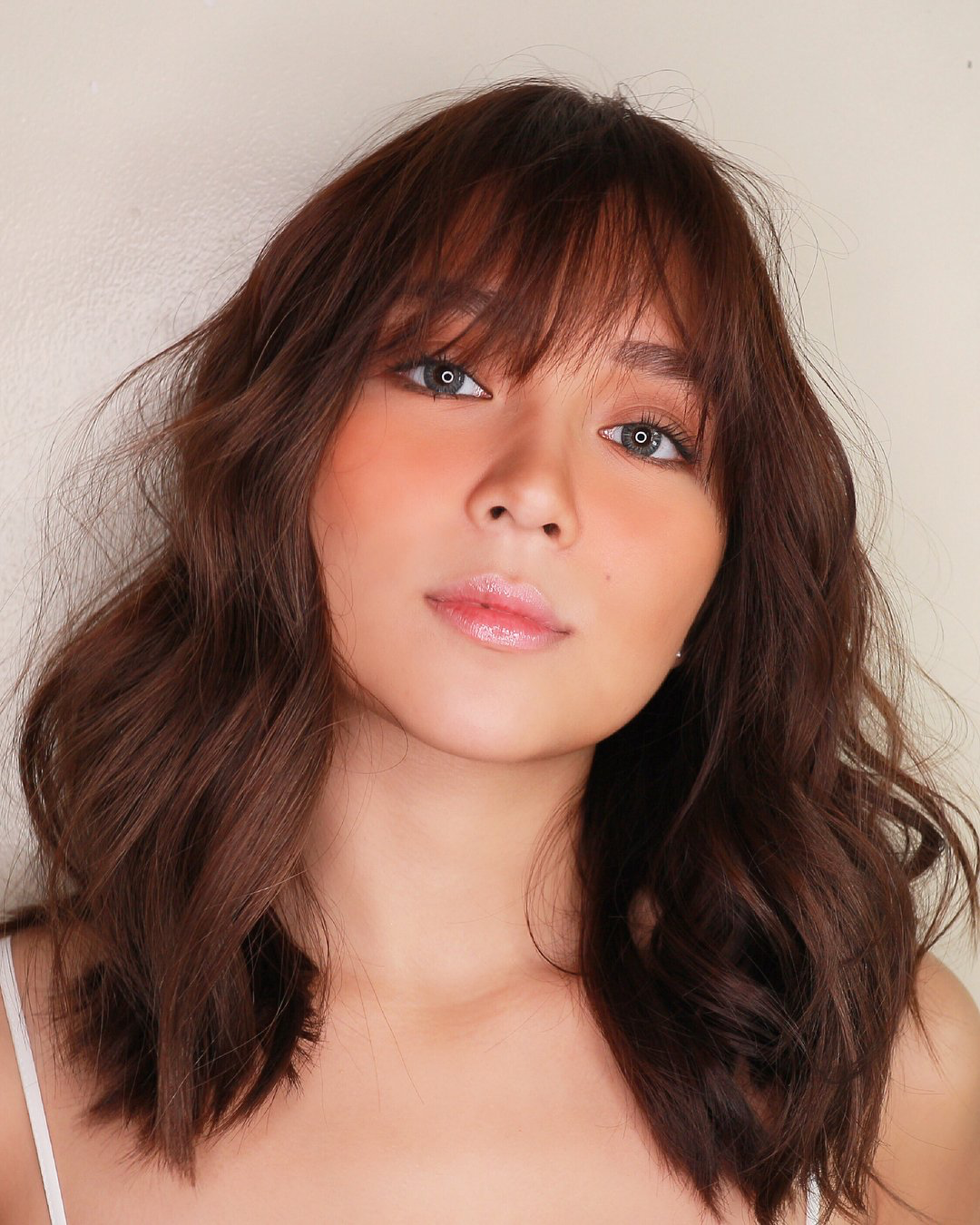 Pin By Terry Milovale On Kathniel Hair Color For Morena Kathryn Bernardo Hairstyle Asian Hair