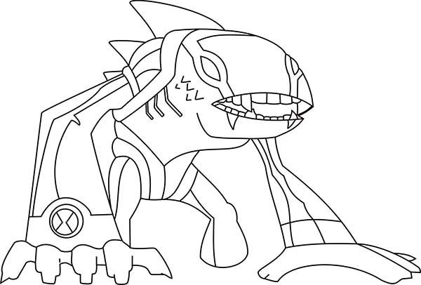 Articguana From Ben 10 Omniverse Coloring Page Download Print Online Coloring Pages For Free Color N Online Coloring Pages Coloring Pages Online Coloring