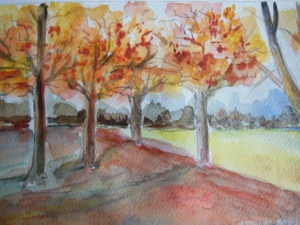 FALL SCENE by marie-claire gallet on ARTwanted