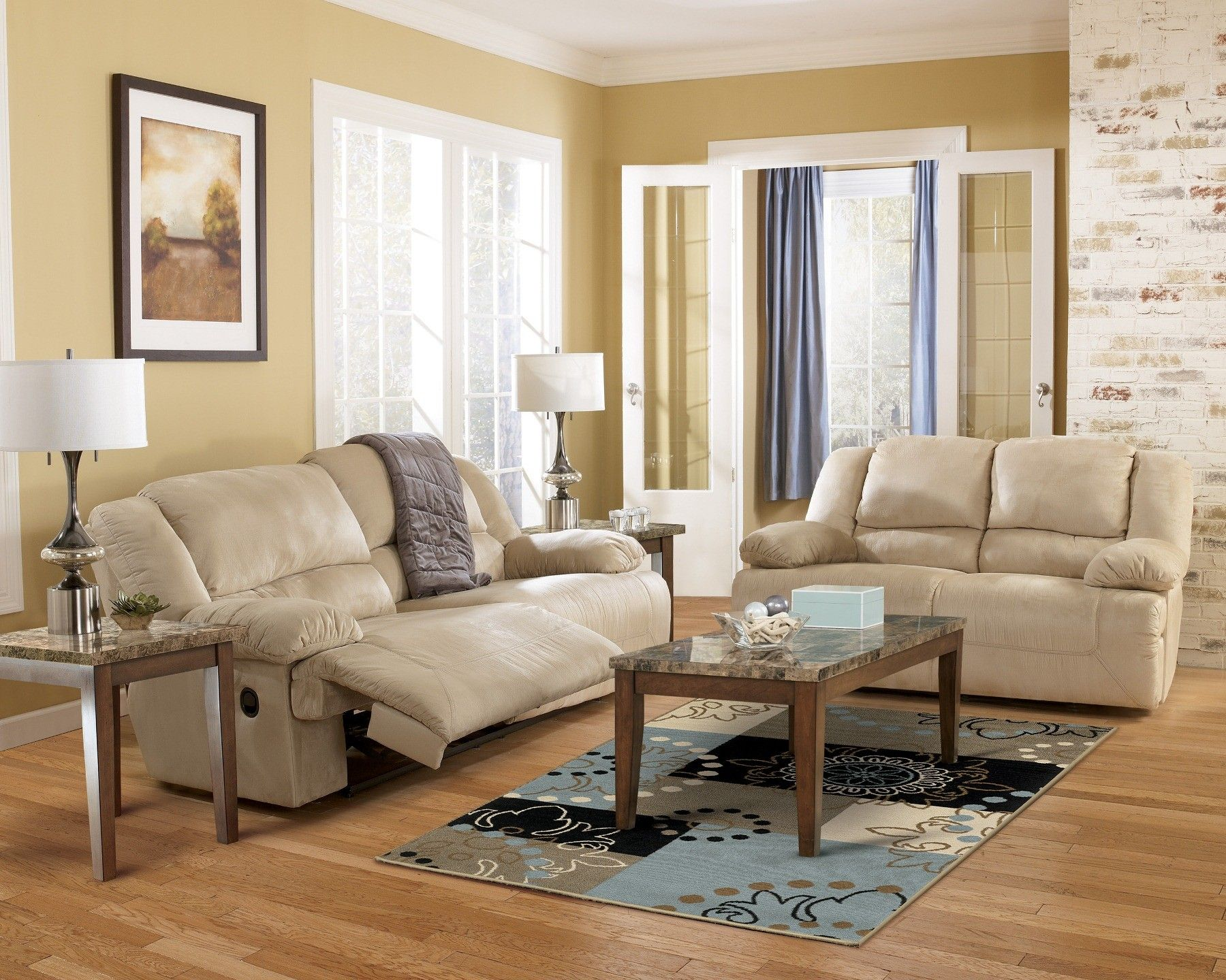 Amazing Hogan Khaki Reclining Living Room Set My Future Home Onthecornerstone Fun Painted Chair Ideas Images Onthecornerstoneorg