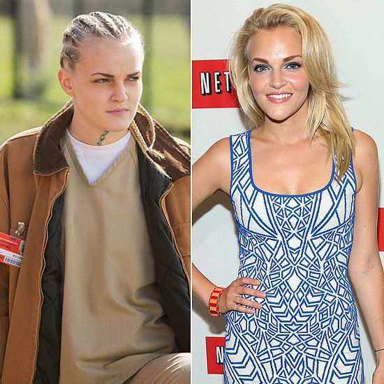 Real Life Orange Is The New Black Characters Madeline Brewer in Rea...