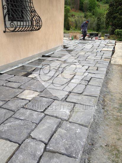 Posa pavimenti in ardesia per esterno a bergamo pavimenti pinterest - Piastrelle esterno economiche ...