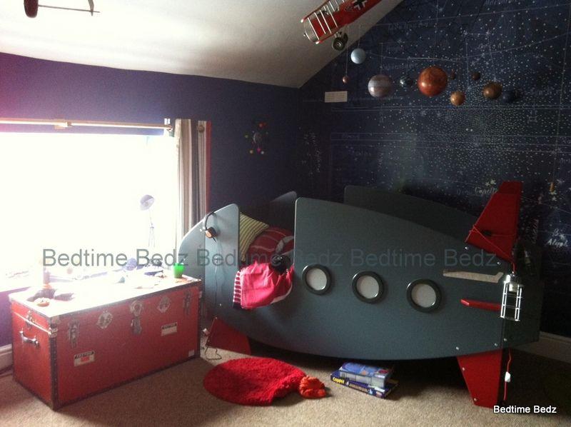 Rocket Theme bed - Novelty Rocket bed created by Bedtime Bedz - Bedtime  Bedz John's bed