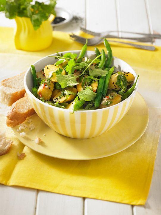 Libanesischer Kartoffelsalat würzig - pikant