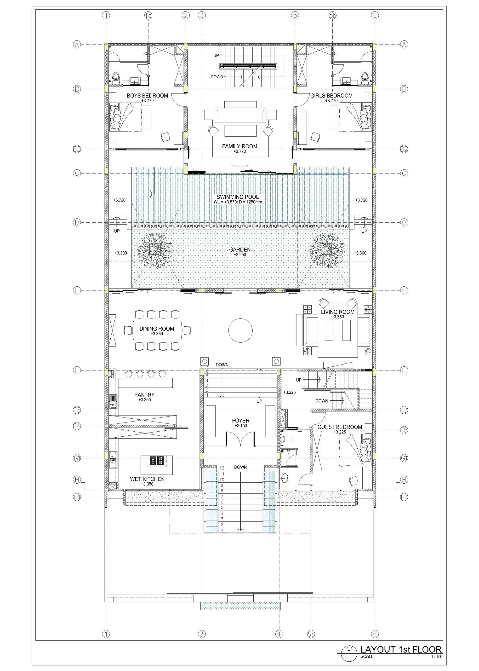 Gallery Of Static House Tws Partners 47 How To Plan House Design Luxury Garden