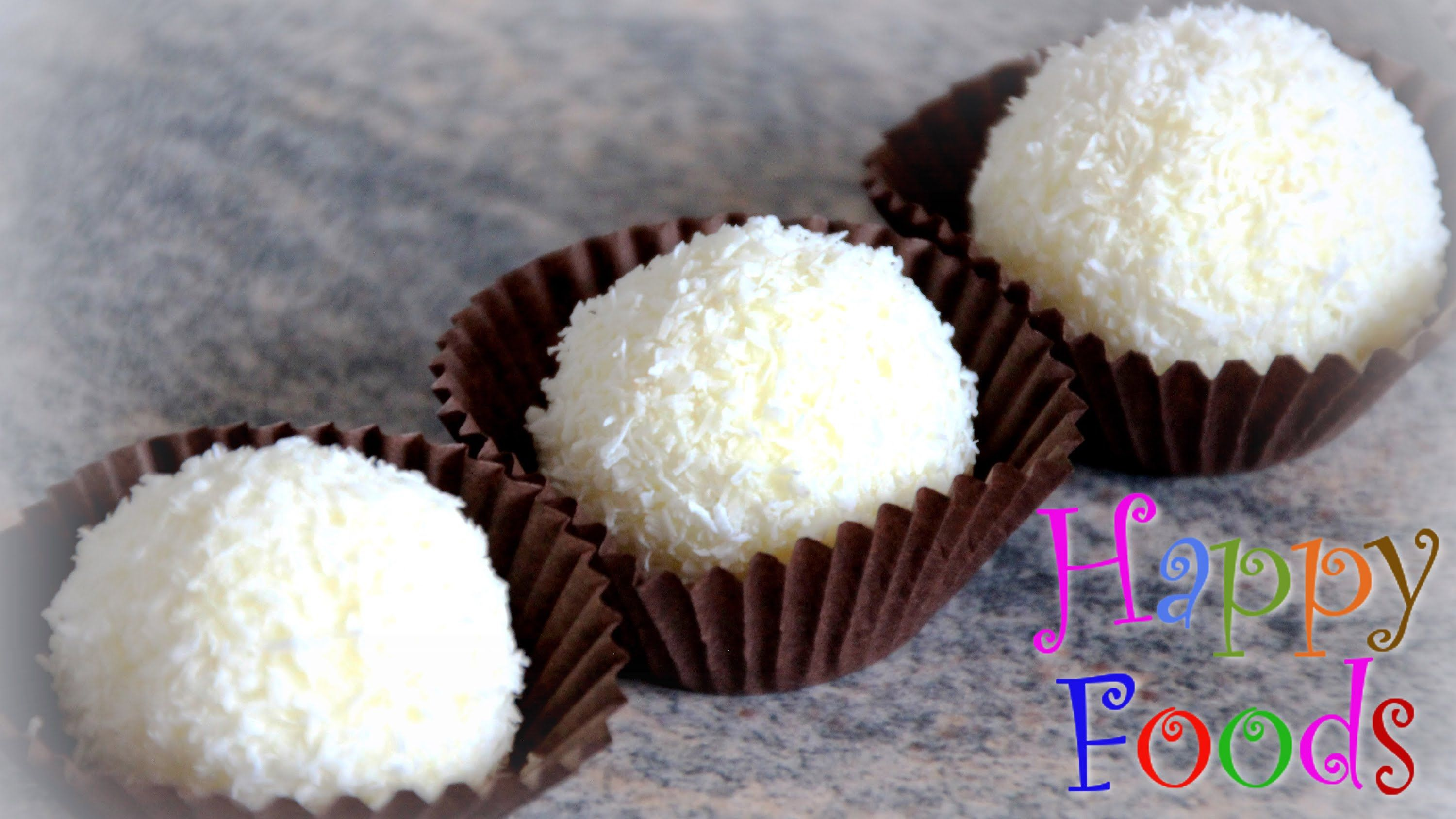 images How to Make Coconut Truffles