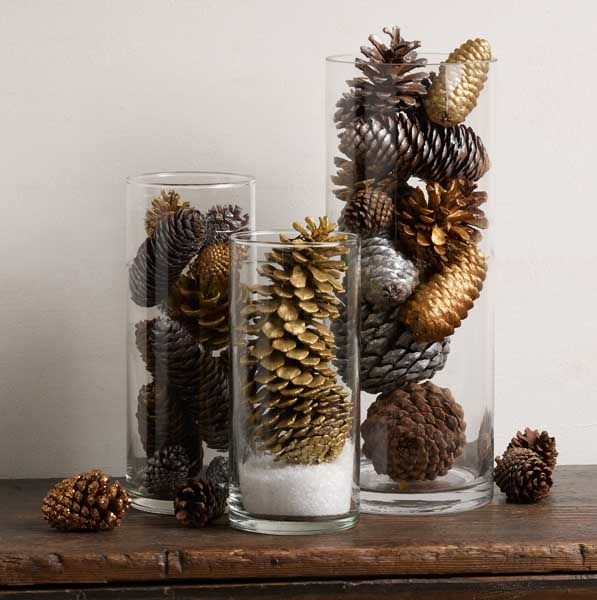 35++ Holiday pine cone centerpiece inspirations