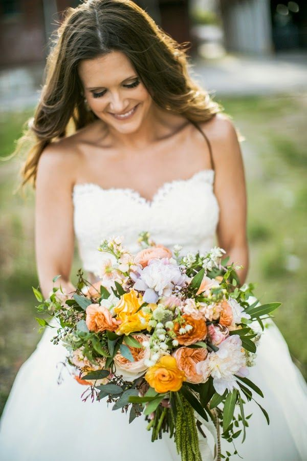 The Frosted Petticoat Real Weddings Dream Wedding Bouquet