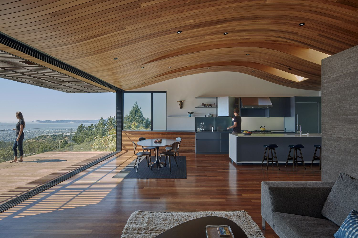 Architecture Firm Terry Design The Skyline House Located In Oakland California