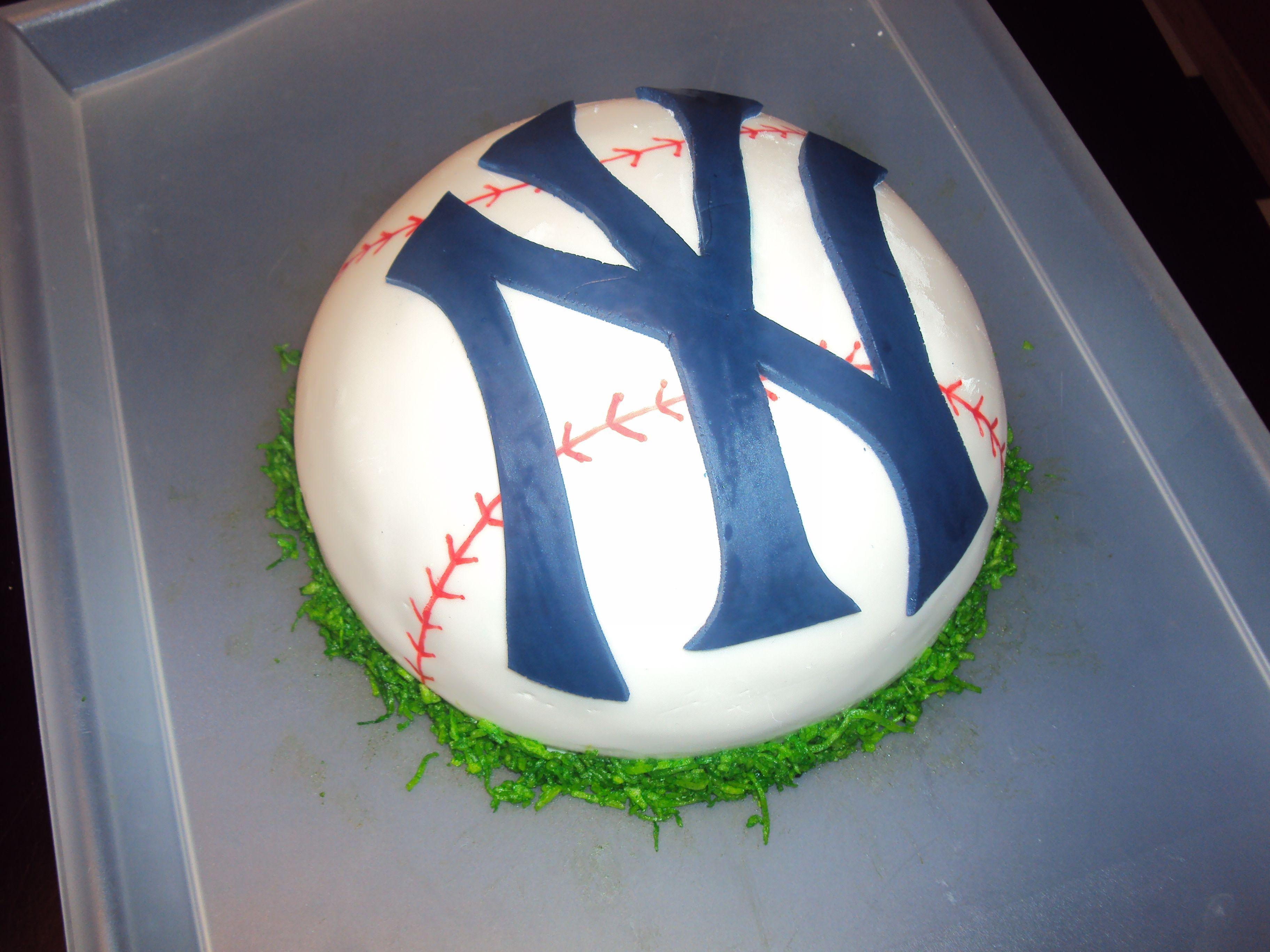 Yankees Cake. Joni will love this