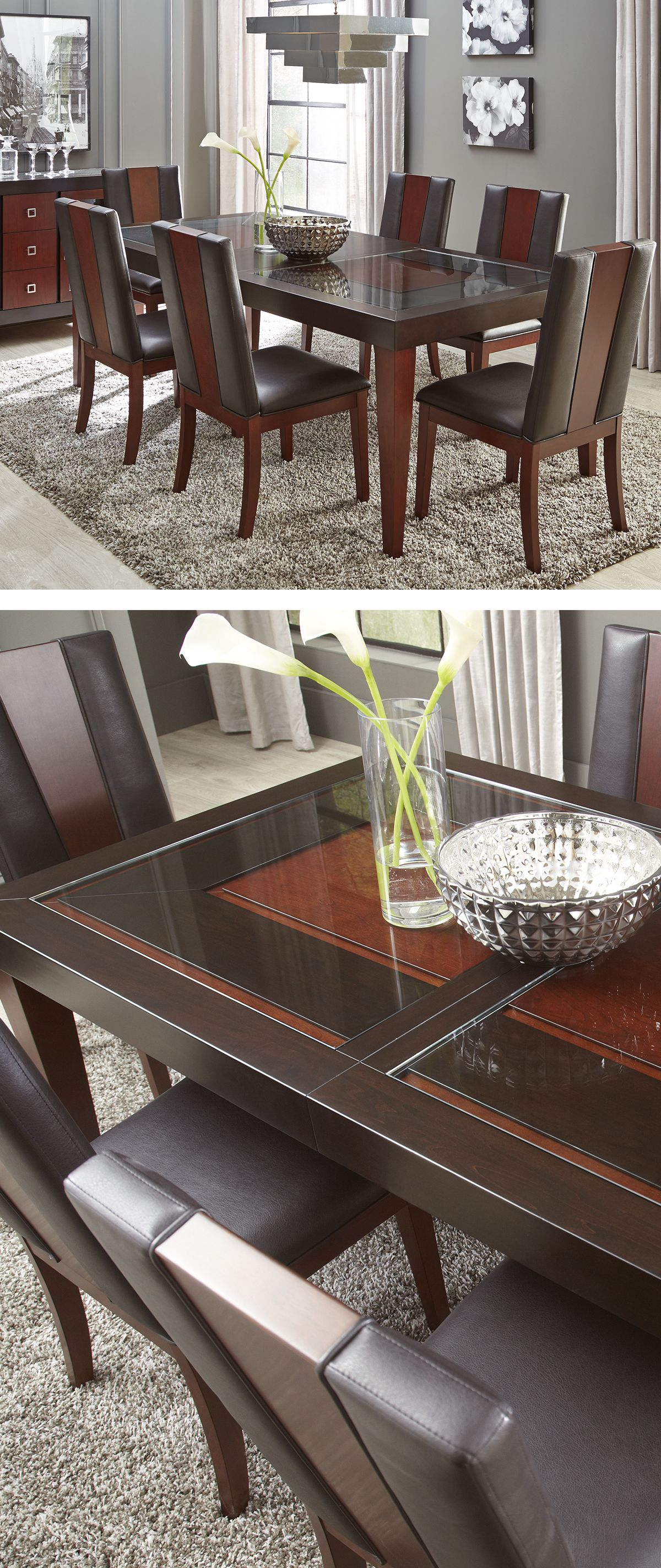 The Savona Dining Collection Offers The Sophisticated Upgrade Your