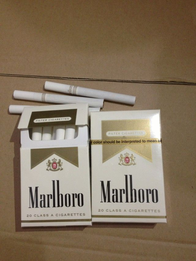 More white mint cigarettes