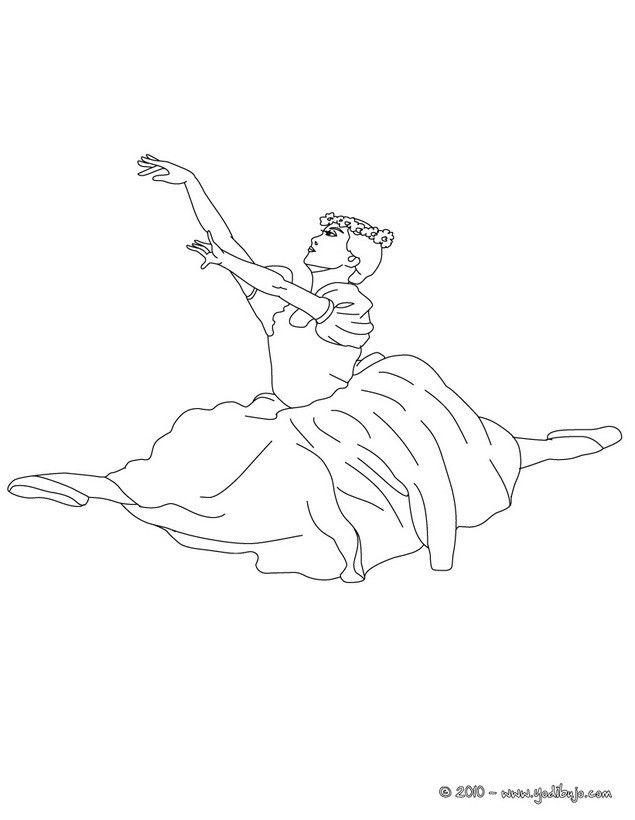bailarina ensayando un grand jete   BAILARINAS   Pinterest ...