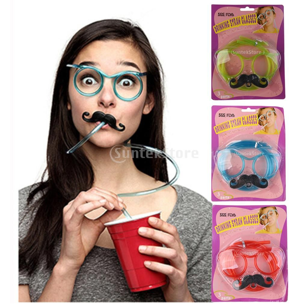 Birthday Party Sunglasses Plastic Glasses Novelty Party Prop for Kid Fancy Dress