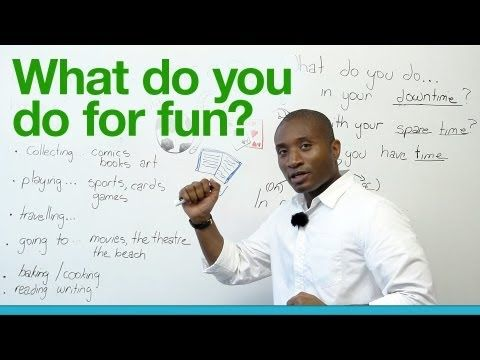 Guide to Language Learning Pronunciation Timur Baytukalov - what do you do for fun