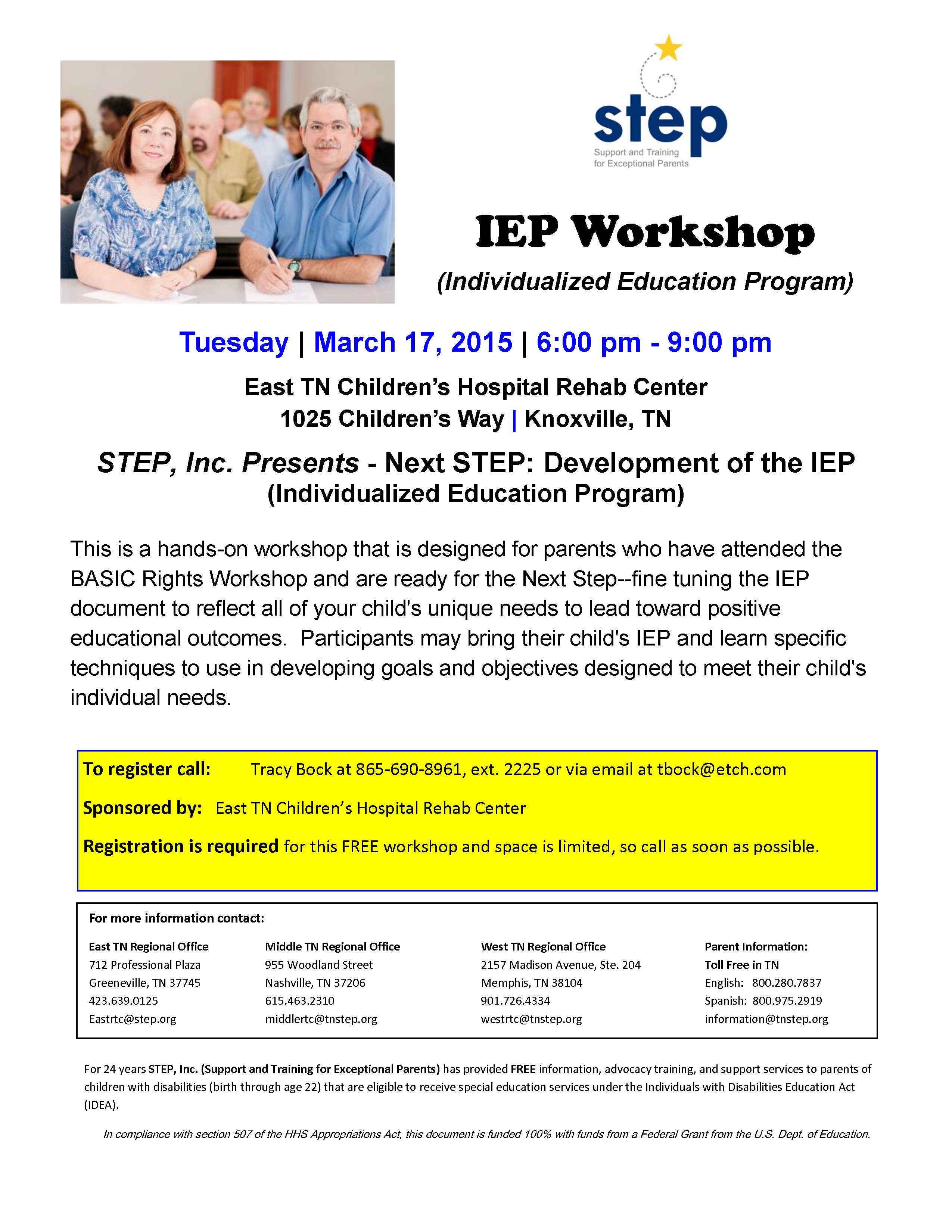 Individualized Education Programs Ieps For Parents Kidshealth >> March 17 2015 Step Inc Presents Next Step Development Of The
