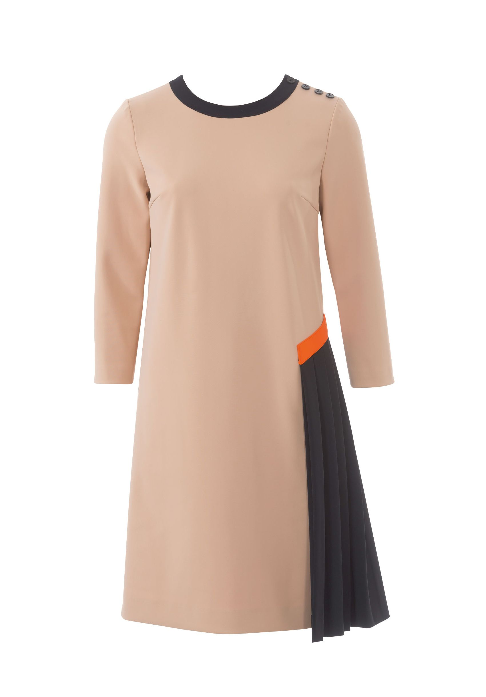 Выкройка платье с круглым вырезом