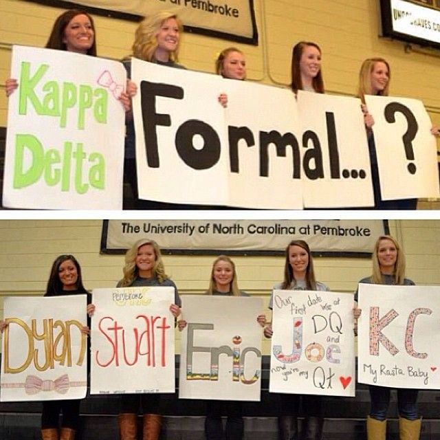 Asking Him To Formal Tsm So Sweet To Be Greek Pinterest