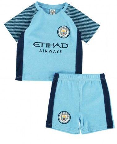 cb7b0065cfa Manchester City Baby Kit T-Shirt   Shorts - 16 17
