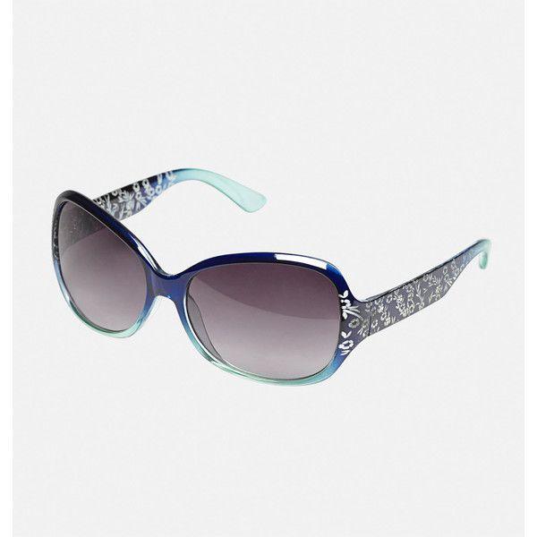 f7c43090e7 Avenue Ombre Floral Sunglasses (1