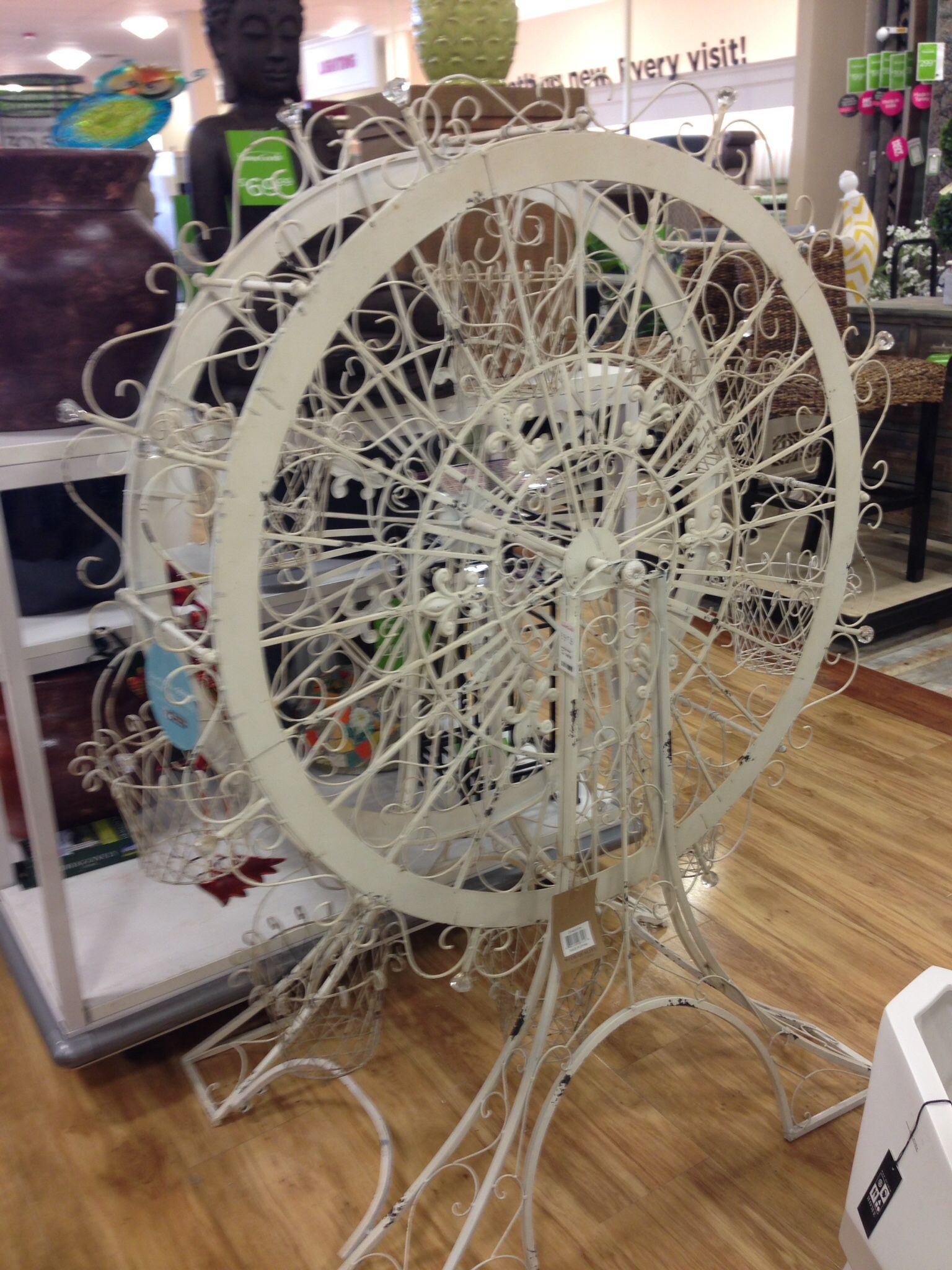 This is awesome I saw this today homegoods it's a ferris