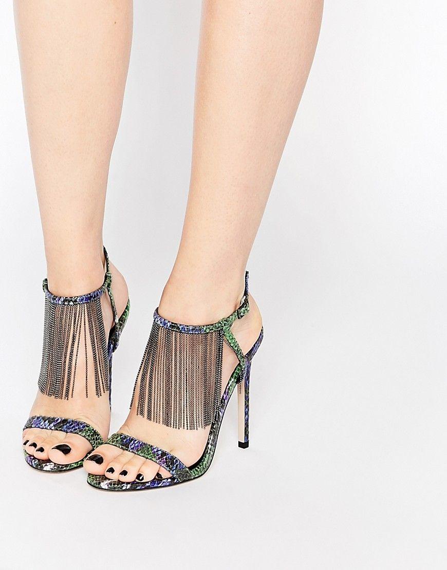 Buy Women Shoes / Asos Half Moon Heeled Sandals