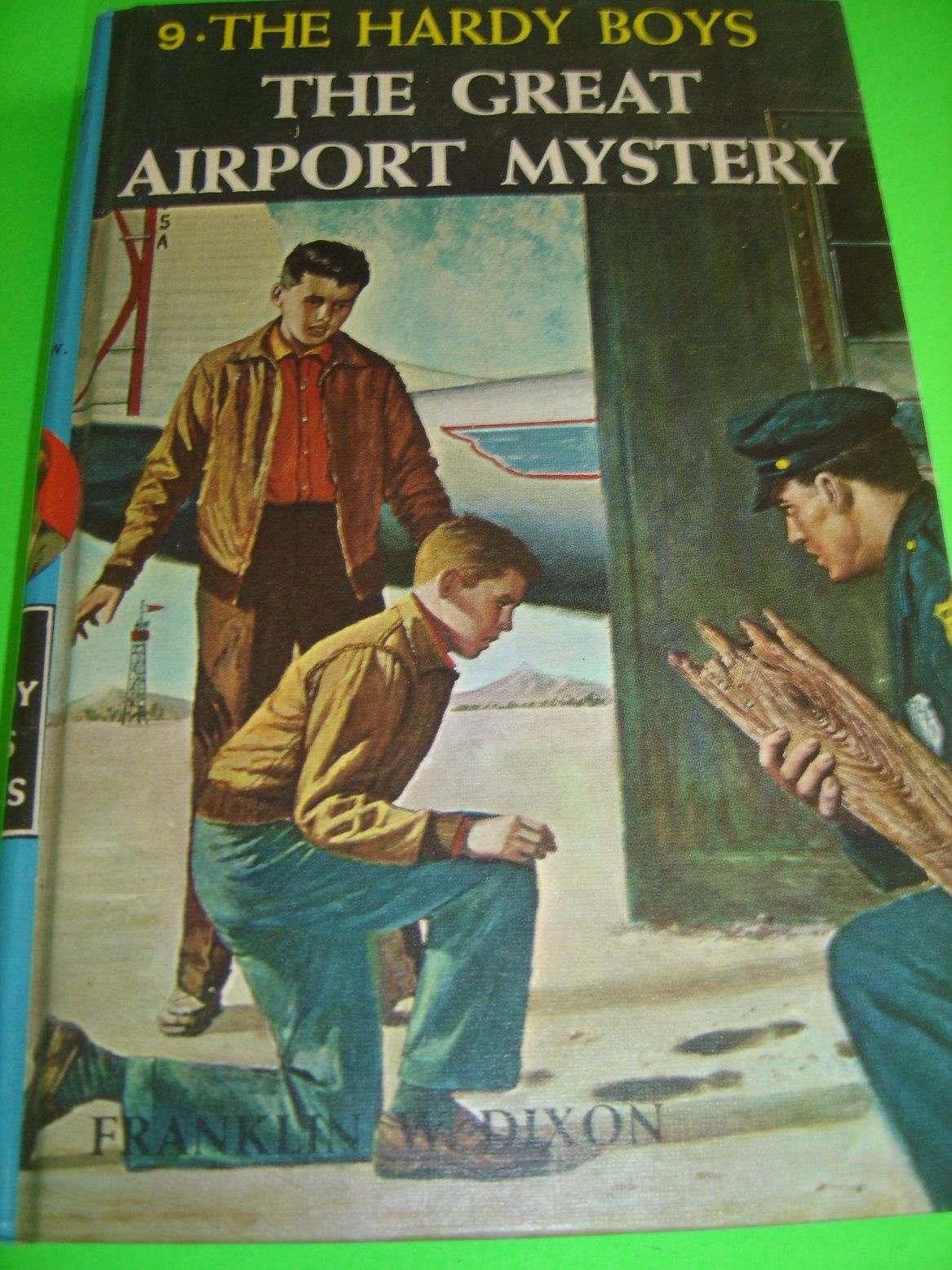 The Hardy Boys 9 The Great Airport Mystery By Franklin W