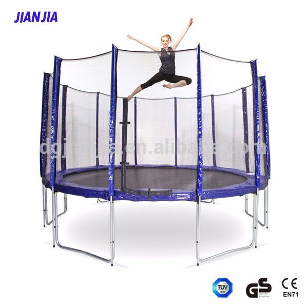Check out this product on Alibaba.com APP Combo Bounce Jump Safety Enclosure Net Trampoline with Spring Pad