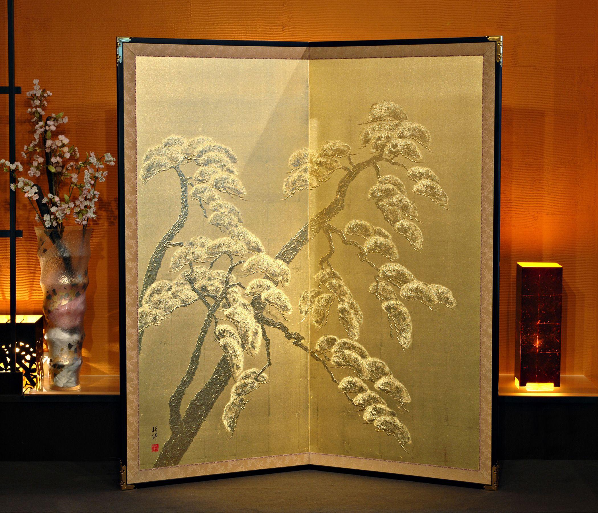 Jumatsu Folding Japanese Screen « Unique Japan ( | Art | Pinterest ...